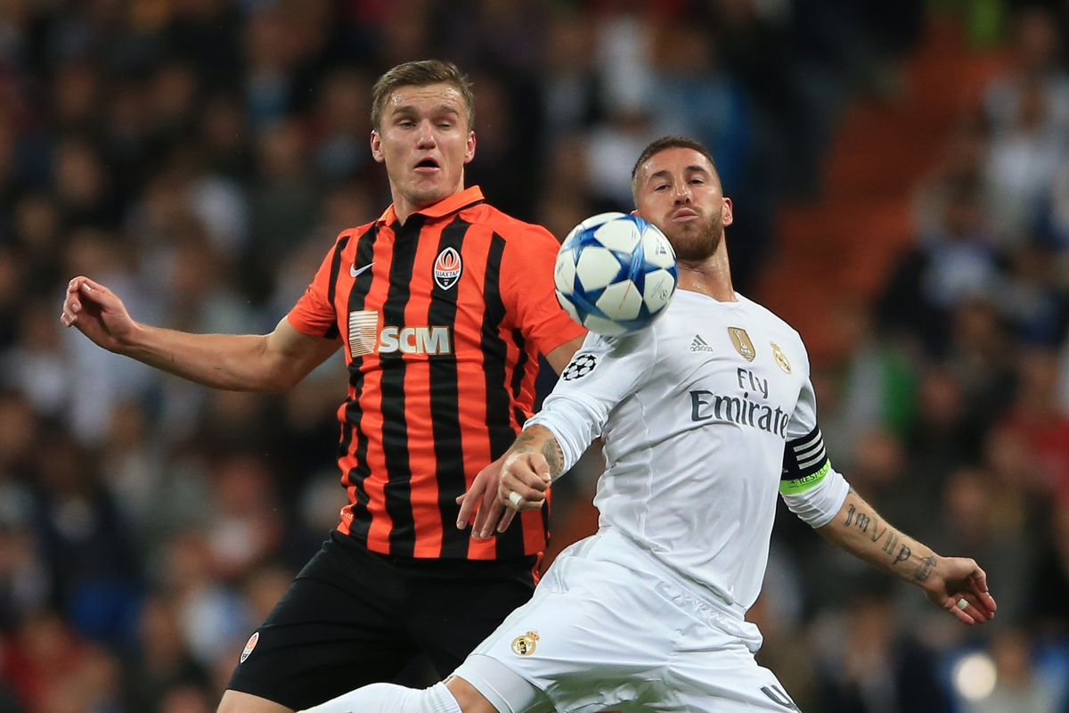 Soccer - UEFA Champions League - Group A - Real Madrid v Shakhtar Donetsk - Estadio Santiago Bernabeu