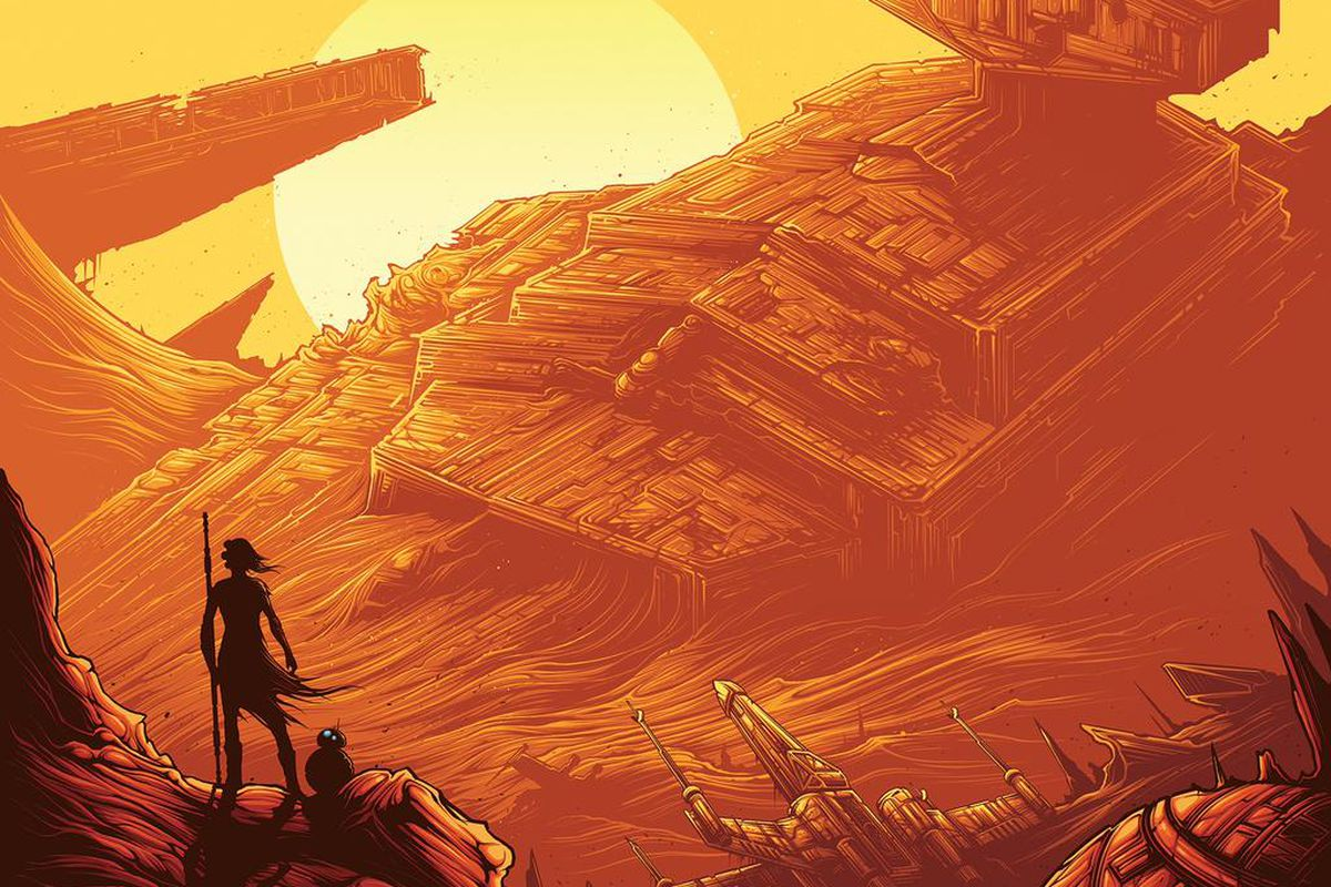 This New Star Wars: The Force Awakens Poster Captures