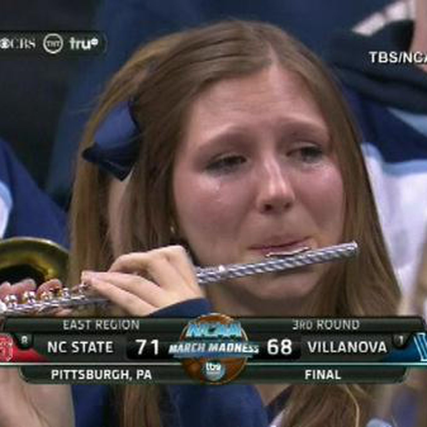 Crying Villanova Piccolo Player explains what happens when you become a meme 5fab288df