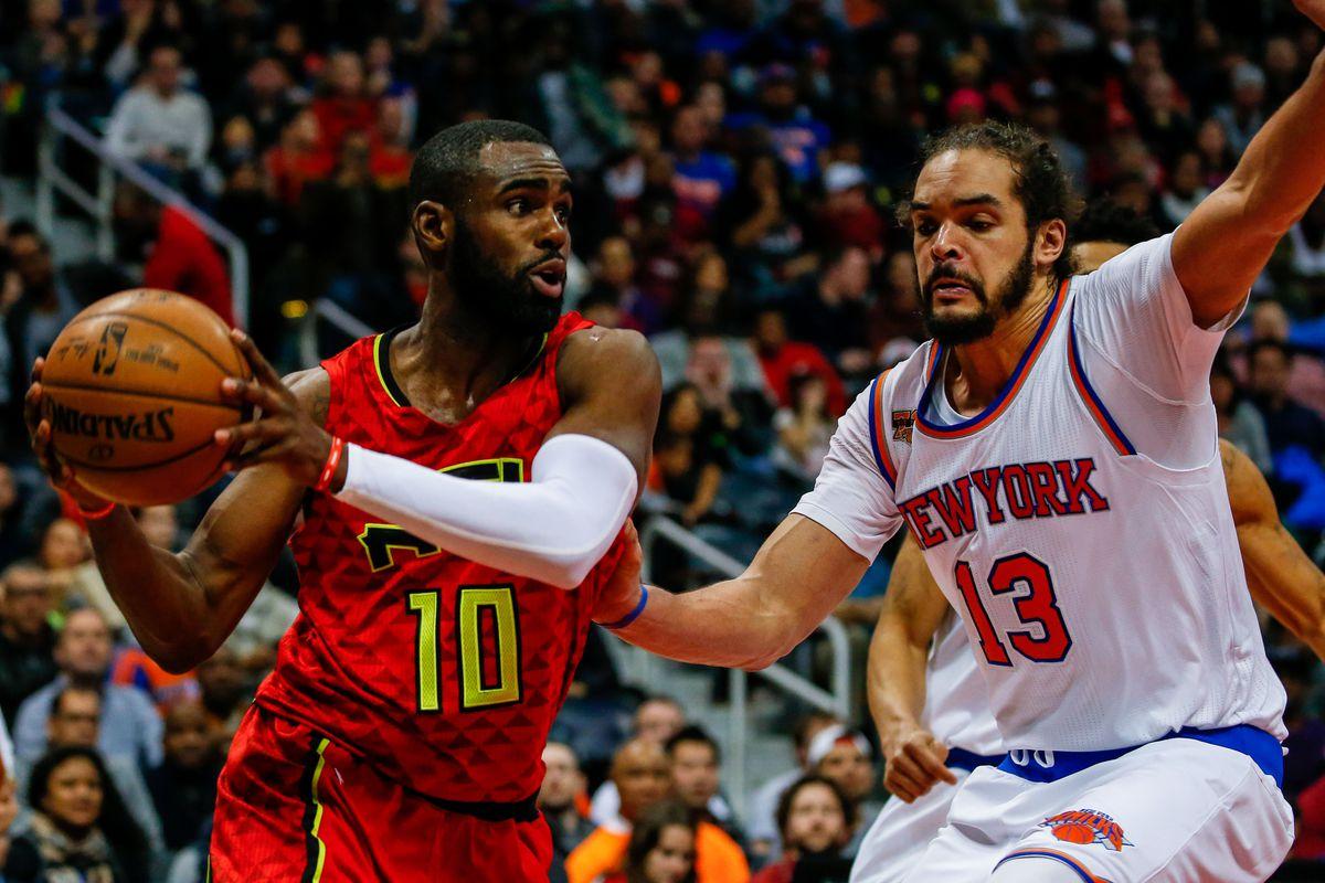 NBA: New York Knicks at Atlanta Hawks