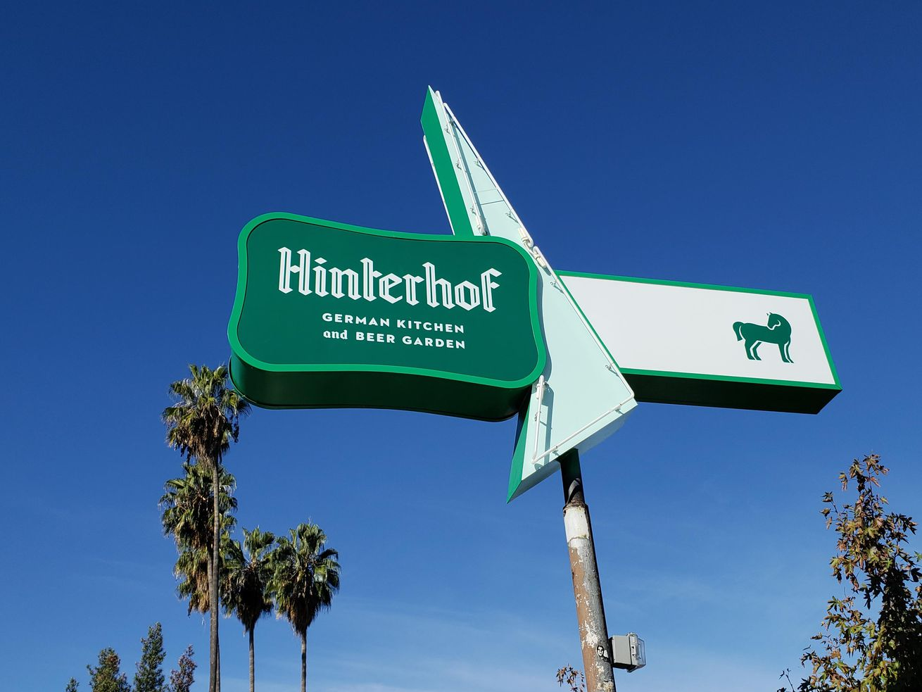 Hinterhof in Highland Park
