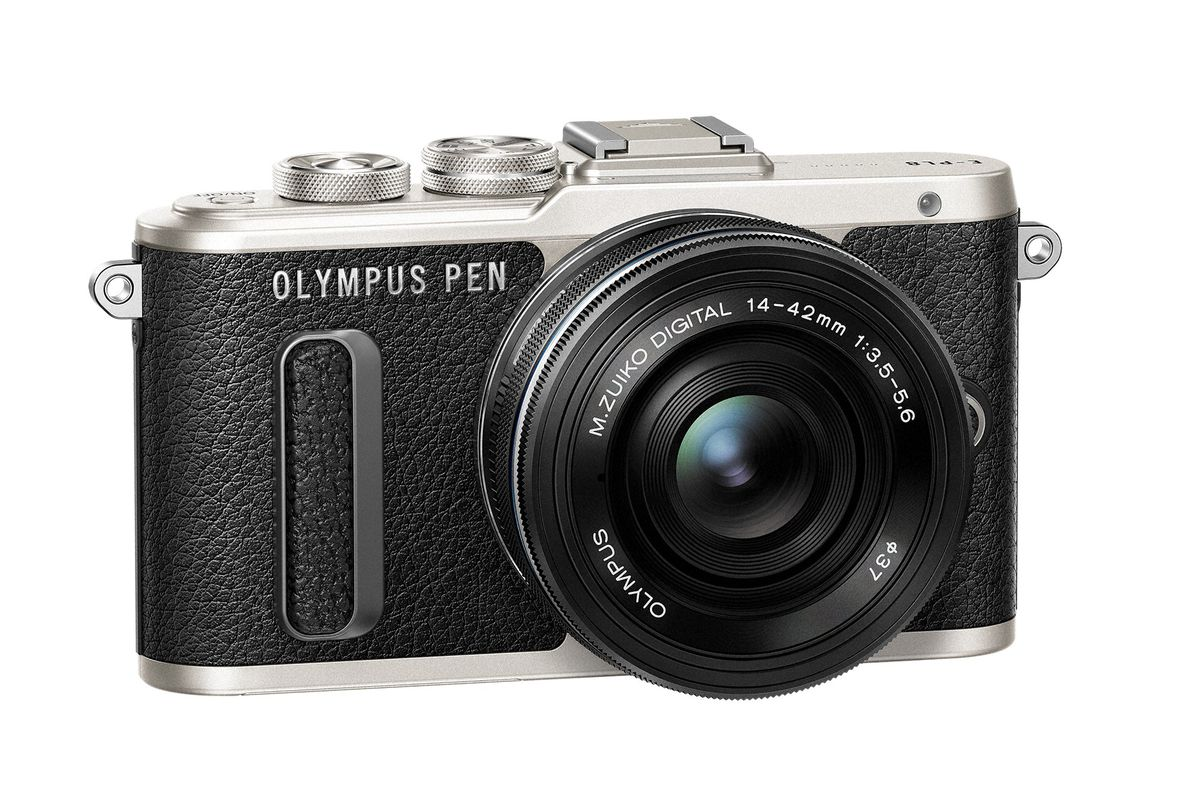 The new olympus e pl8 is the most stylish pen lite camera for Web tv camera