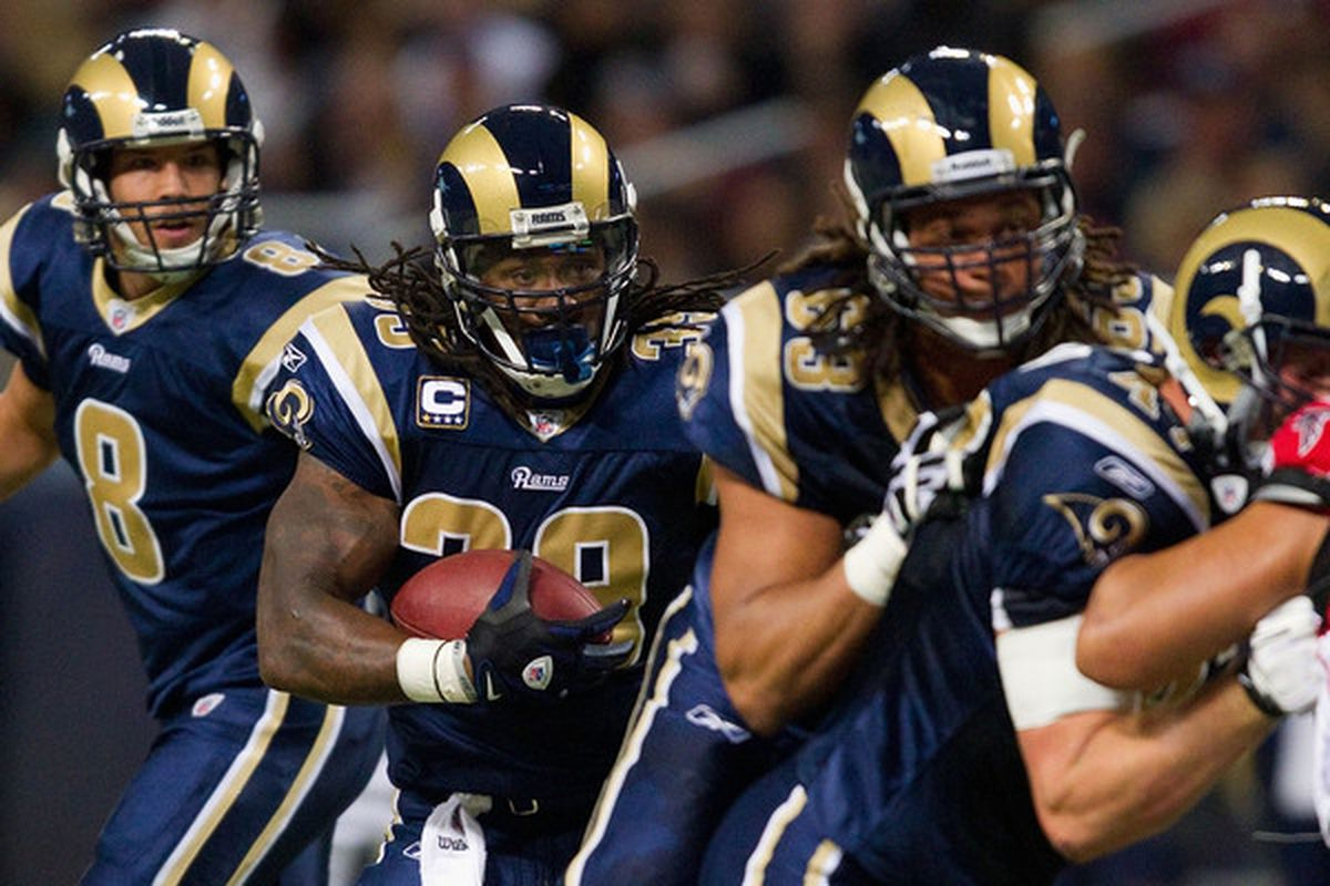 Steven Jackson could have a big day on the ground is the St. Louis Rams give him enough carries.