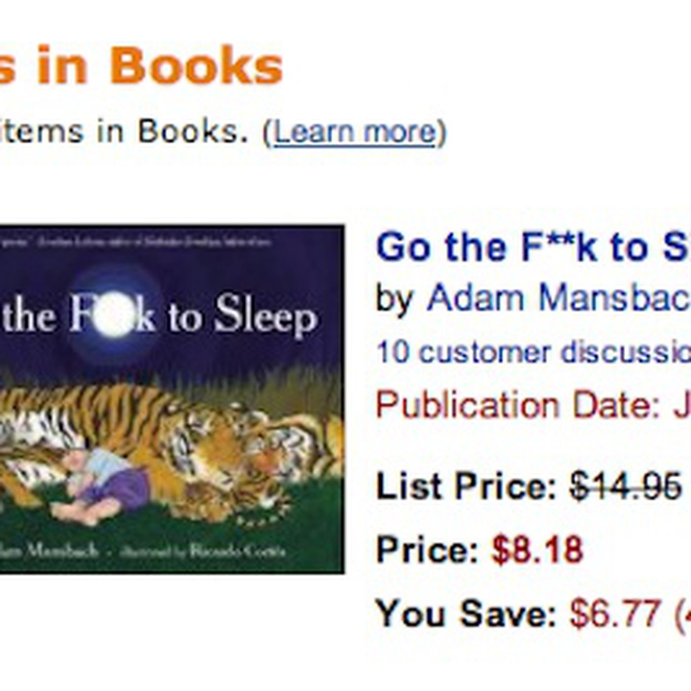 Profanity Laced Nursery Rhymes Book Go The F K To Sleep Is S 1 Bester And It Hasn T Even Been Released Yet