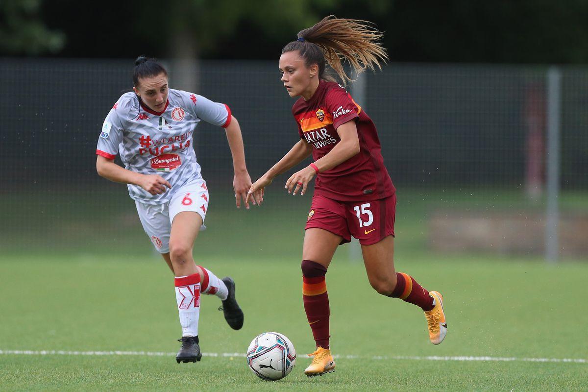 AS Roma v Pink Bari - Women Serie A