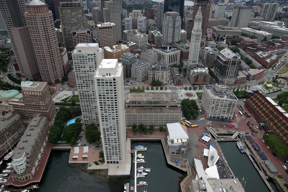 Boston Harbor Garage Tower Can Move Forward Following State Rezoning Decision Curbed Boston