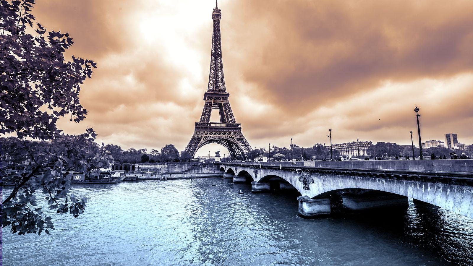 Картинка высокого разрешения для фотообоев париж