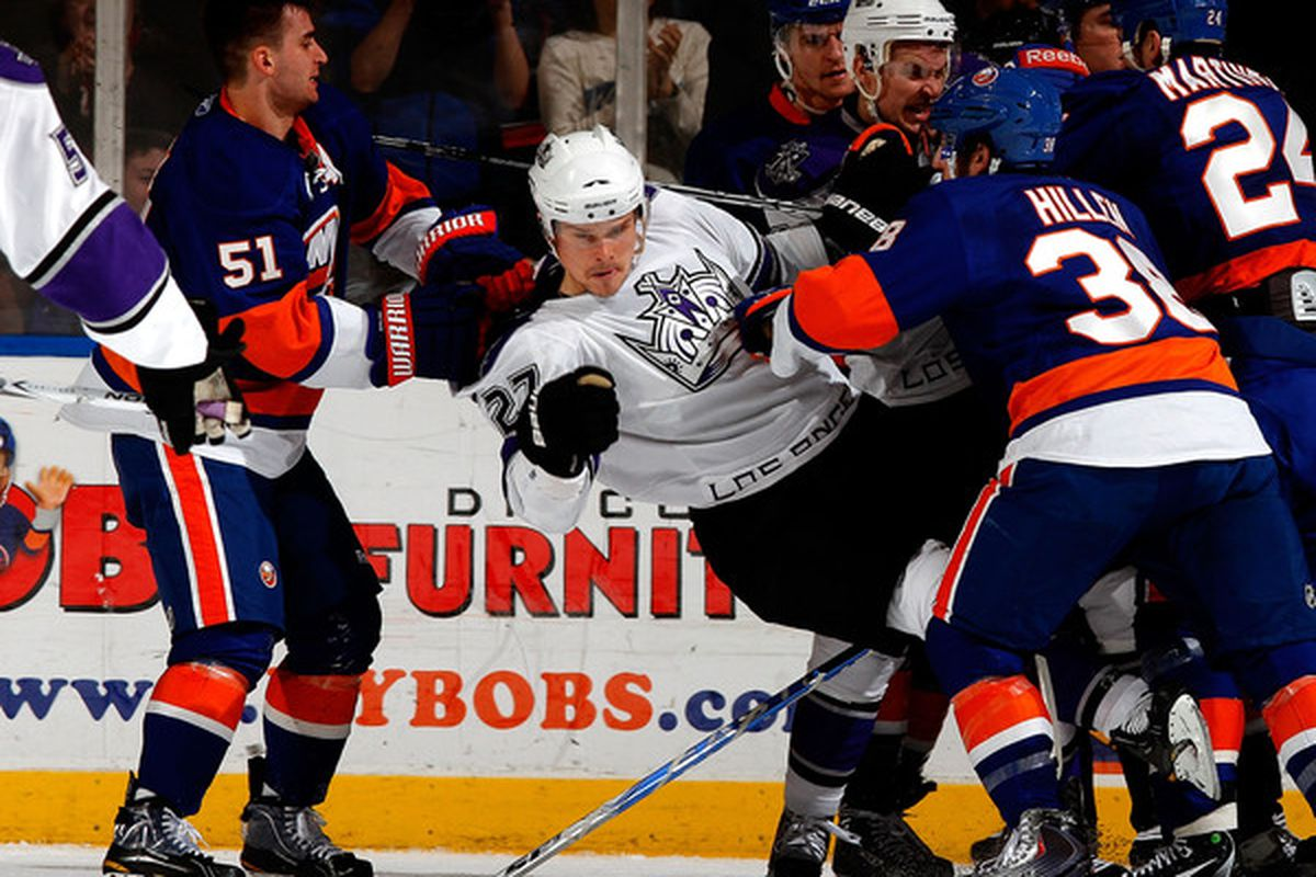 Nielsen will Handzus a beating unless he is stopped...