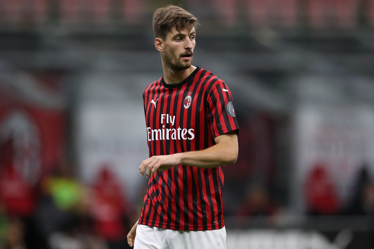 AC Milan Centre Back Matteo Gabbia Is Being Approached By Crotone and Parma