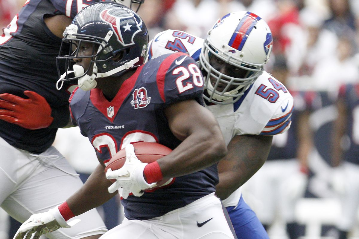 Justin Forsett's a free agent too, you know.  Hope he stays in Houston.