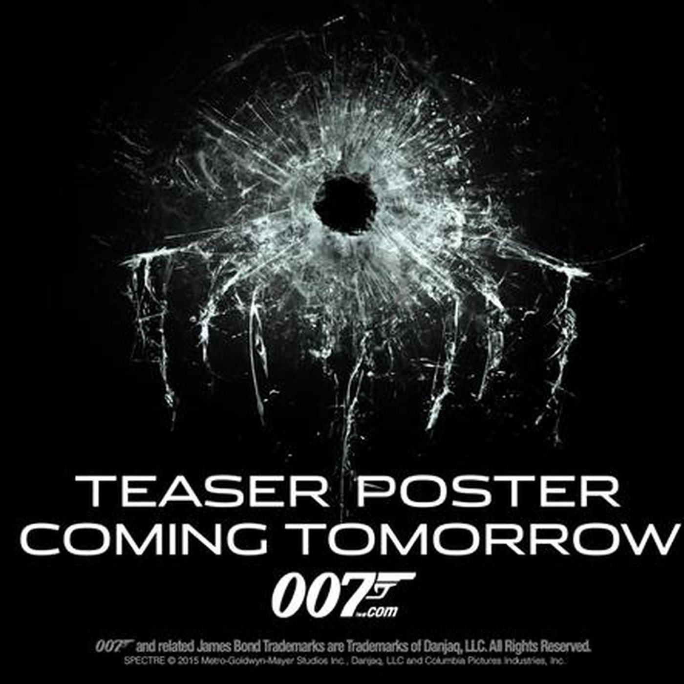There s now a teaser for a teaser of the poster for Spectre The Verge