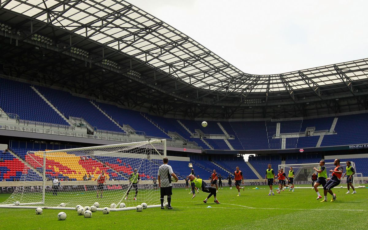 New York Red Bulls Practice Session With Tottenham Hotspur
