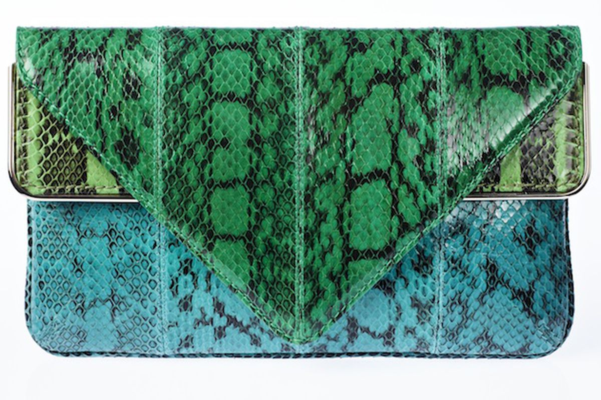 One of four Brian Atwood handbags that will be sold exclusively on Gilt.com