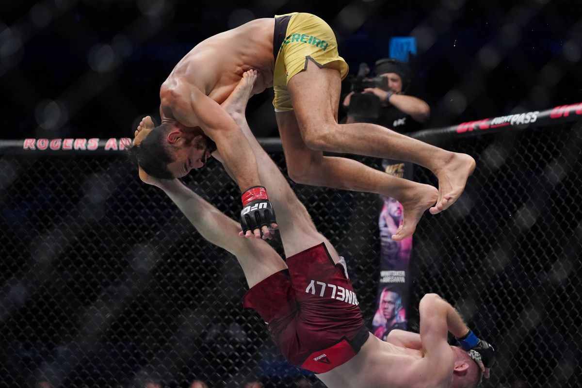 Michel Pereira believes he won two rounds at UFC Vancouver, considers move to 185 next