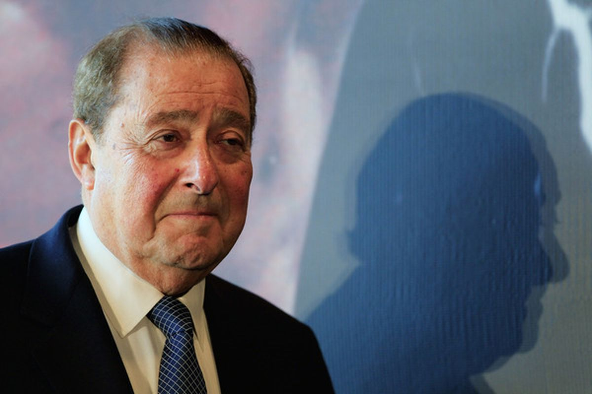 Bob Arum might be more concerned with UFC than he's letting on, but he also might not be. Bob is a riddle. (Photo by Chris Trotman/Getty Images)