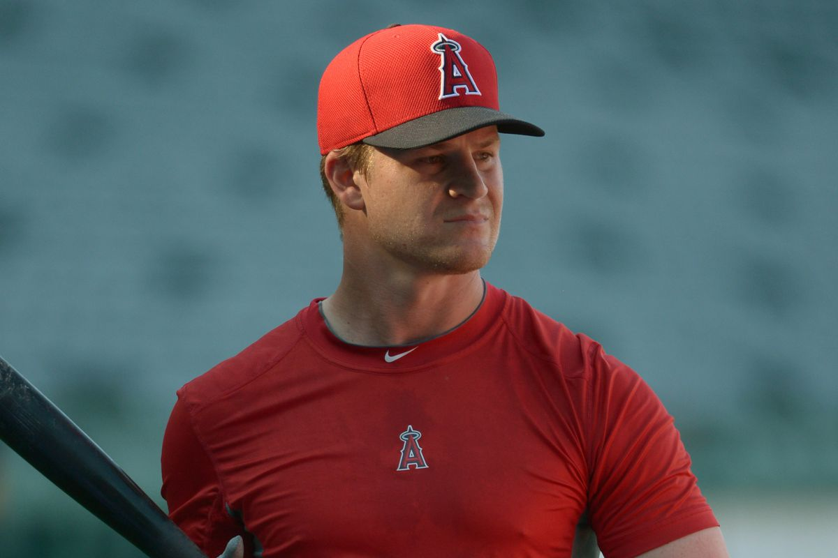 Gordon Beckham's days as an Angel may be numbered.