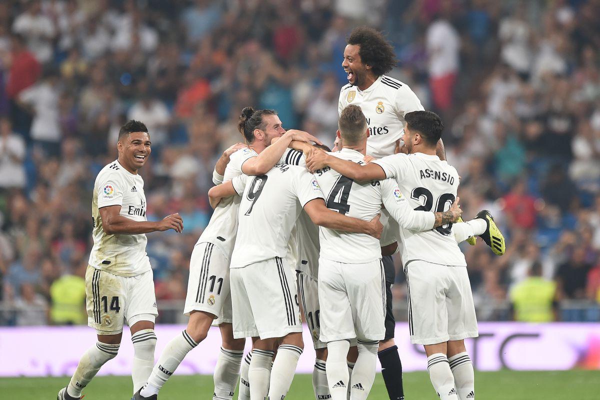 Image result for Real Madrid  football club 2018-19 season