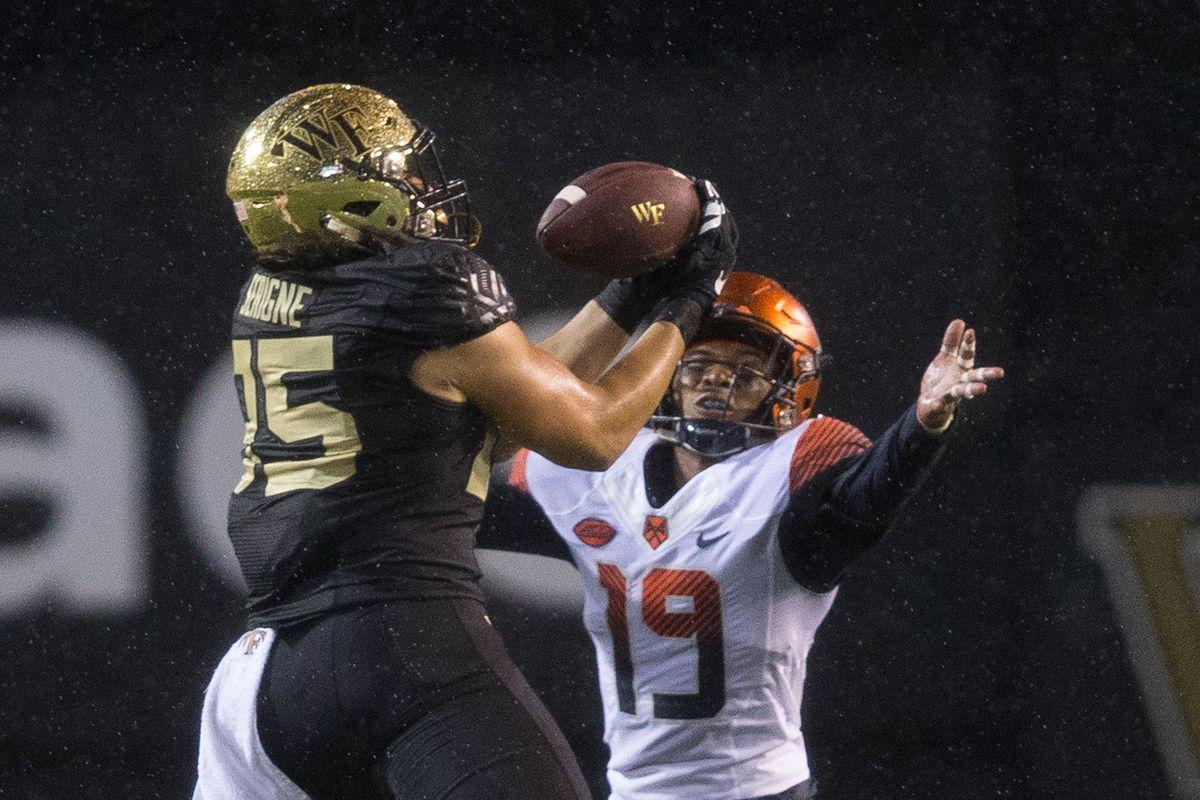 NCAA Football: Syracuse at Wake Forest