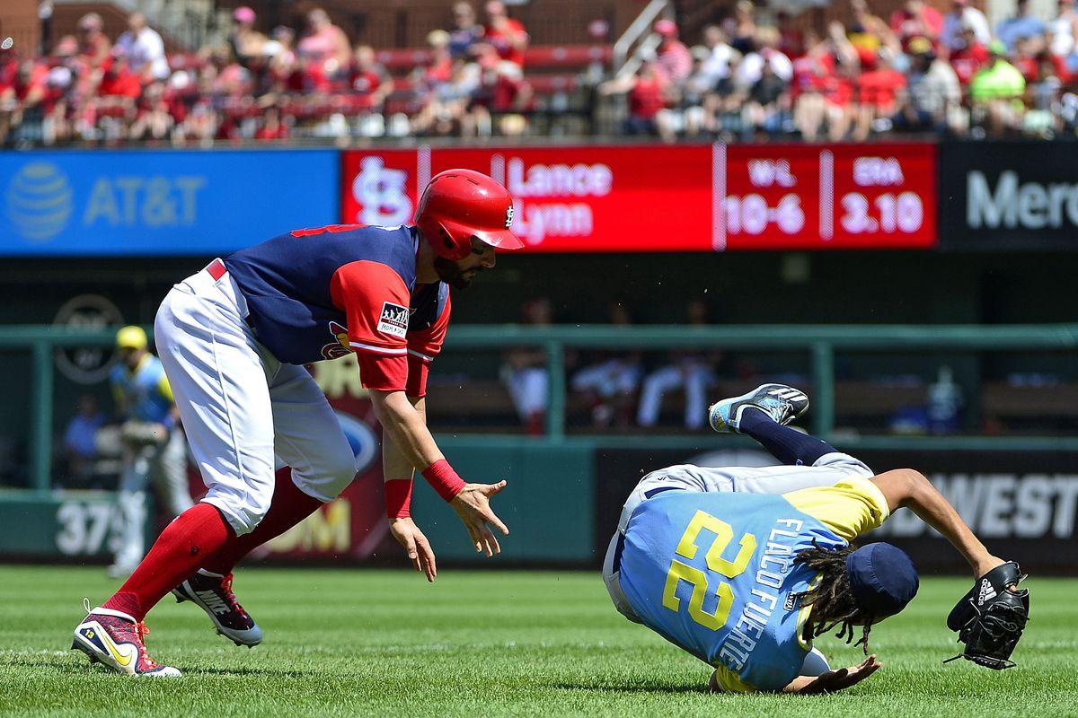 MLB: Tampa Bay Rays at St. Louis Cardinals