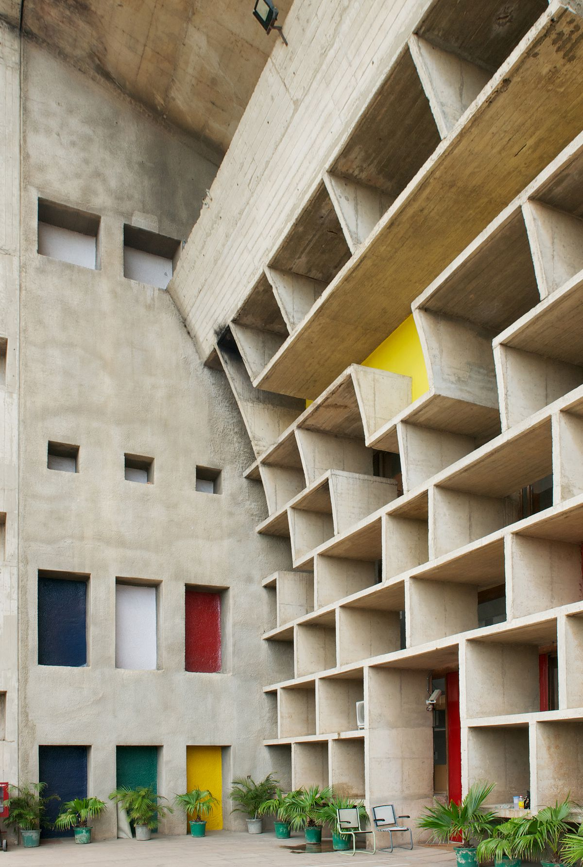 Le Corbusier S Utopian City Chandigarh And Its Faded