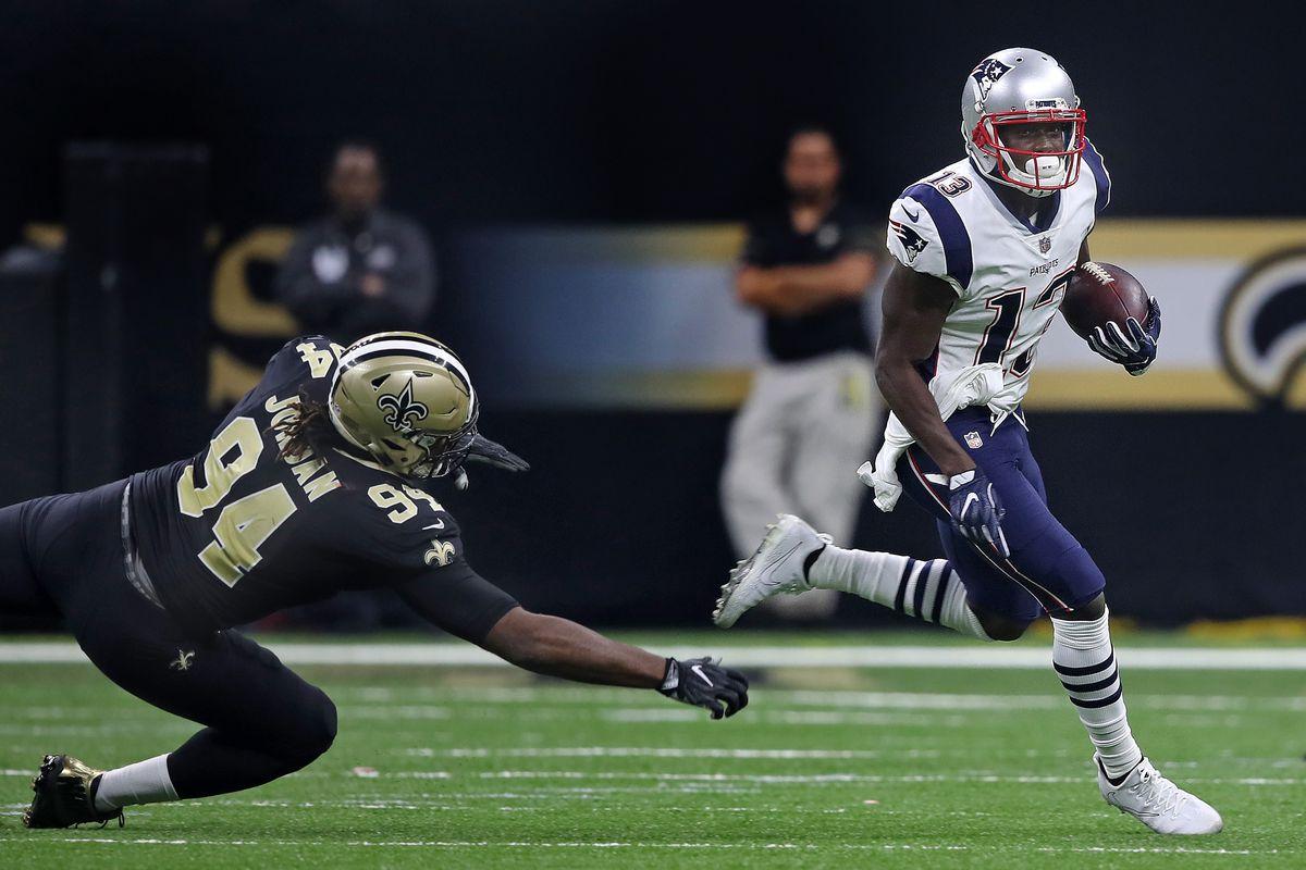 New England Patriots Vs. New Orleans Saints At Mercedes-Benz Superdome