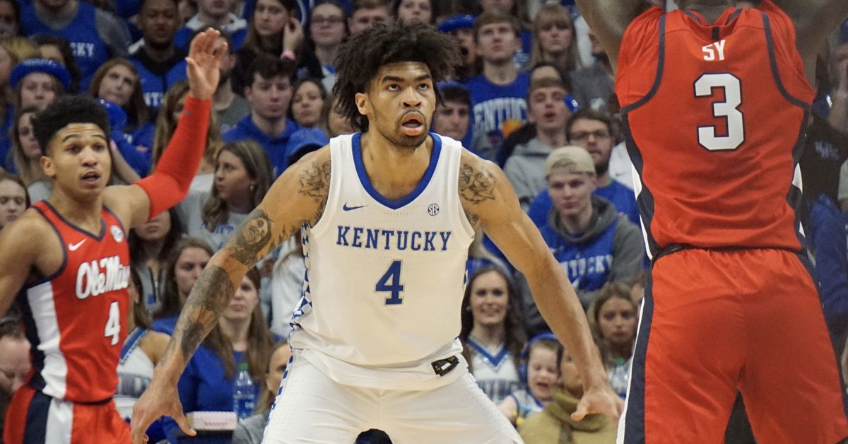 Kentucky now projected as a 3 seed in NCAA Tournament