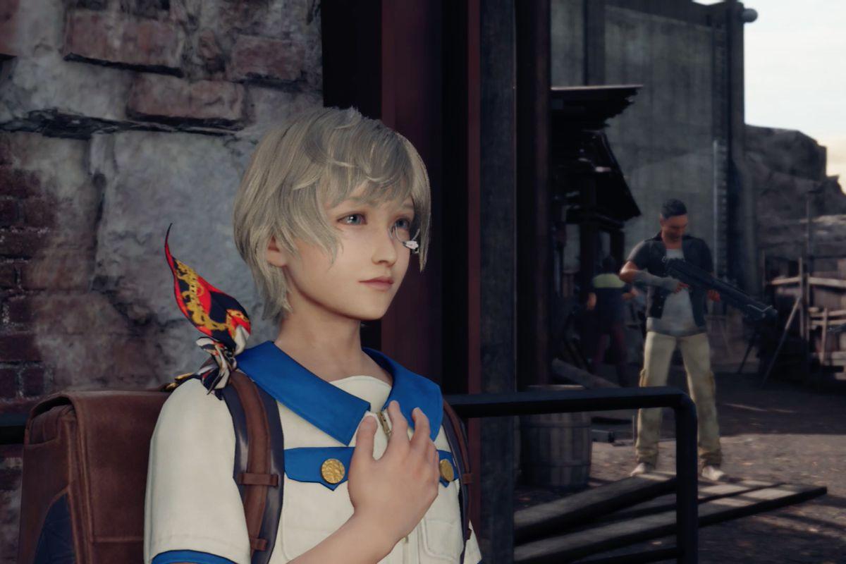 Final Fantasy 7 Remake's Chadley prepares to explain Summons