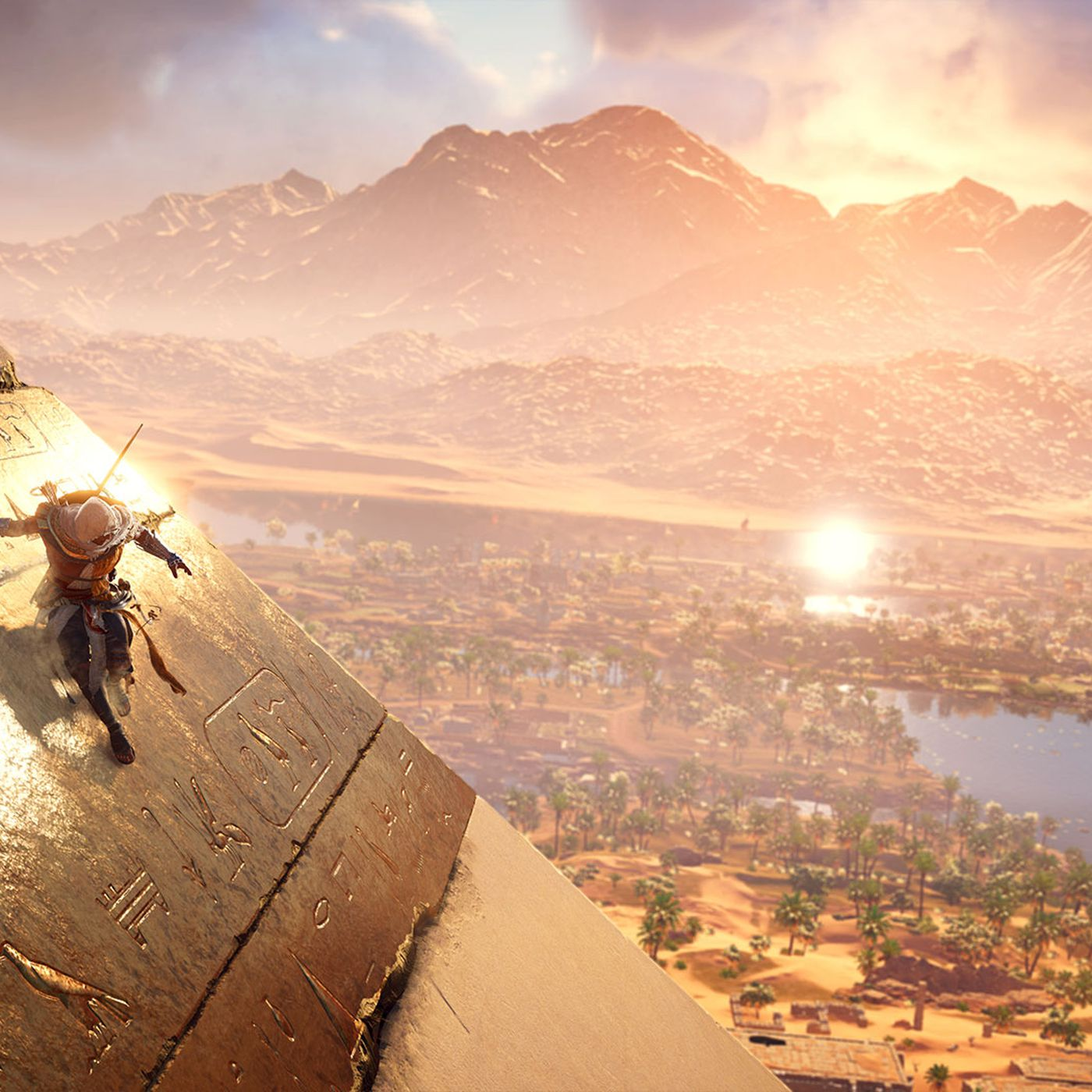 Assassin S Creed Origins Finds New Life In A New Setting The Verge