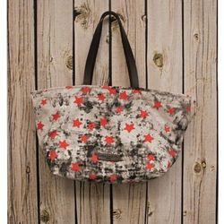 """The <a href=""""http://www.thirdstreethabit.com/shop/accessories/pamela_star_bag_in_red.html"""">Pamela Star Bag</a> ($88) from Third Street Habit has us seeing stars. This lightweight, punk rock-chic bag will make lugging around your life on-the-go a breeze."""
