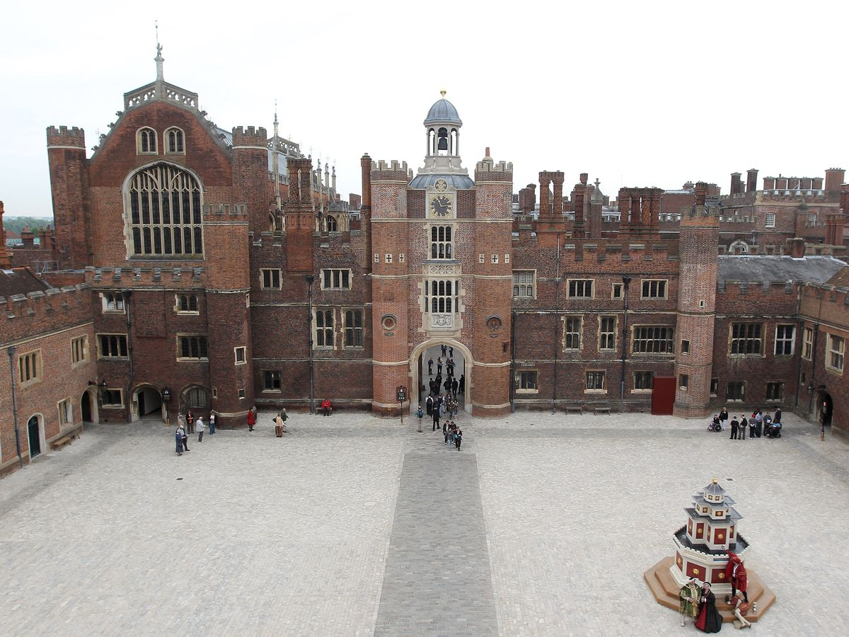 Best London restaurants in award-nominated television and films: Hampton Court Palace from The Favourite