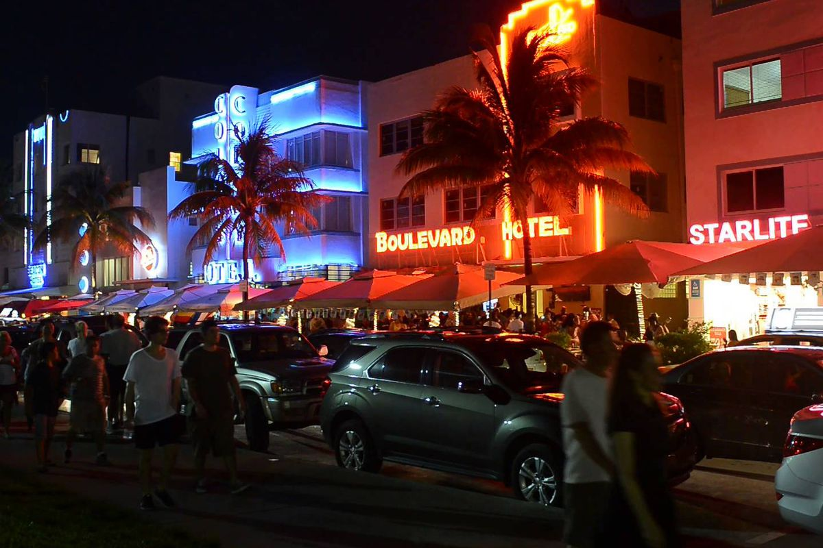 Ocean Drive at Night