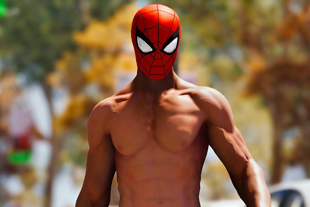 Spider-Man's 'Undies' suit.