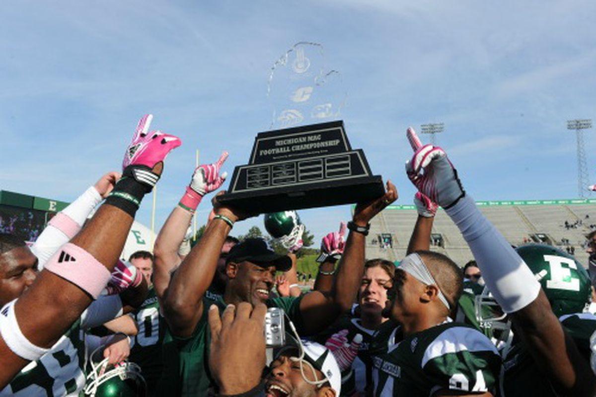 EMU wins Michigan MAC Trophy