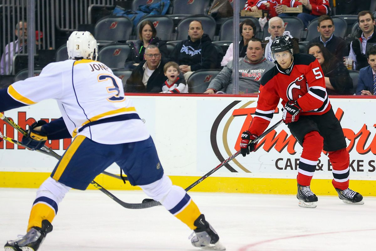 Nashville seeks its third straight win of the season against the New Jersey Devils on Tuesday night