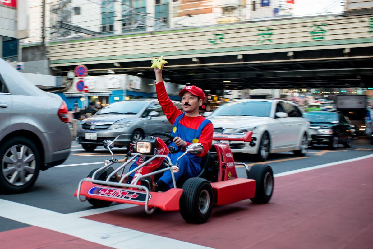 Real Mario Kart In Tokyo