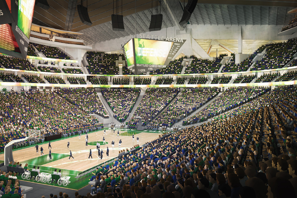 """Seattle Center Arena will be """"a perfect basketball ..."""