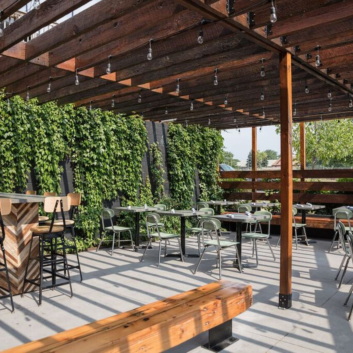 Gold Cash Gold Spruces Up Patio With Outdoor Bar and Al Fresco