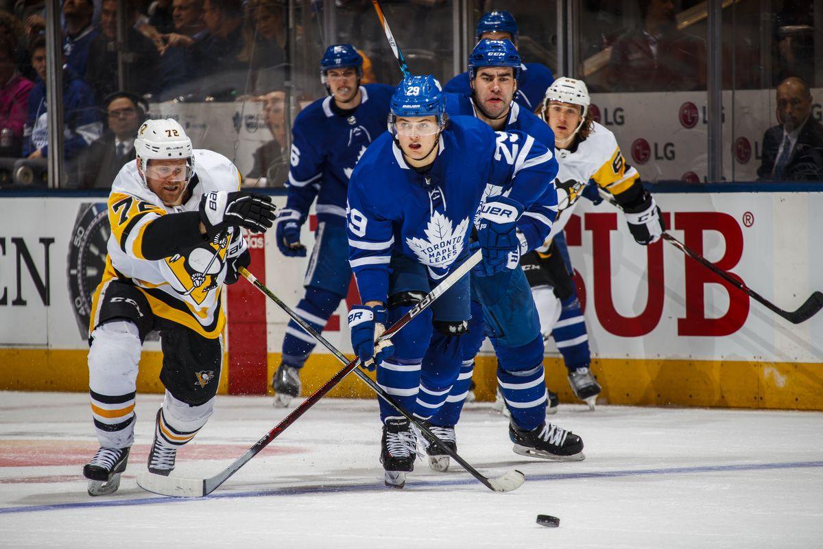Pittsburgh Penguins v Toronto Maple Leafs