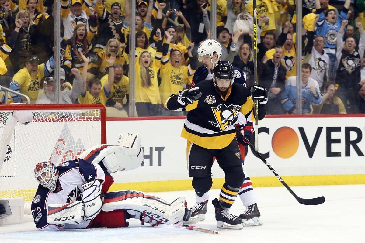 Penguins/Blue Jackets Game 1 Recap: Pittsburgh uses big 2nd period ...