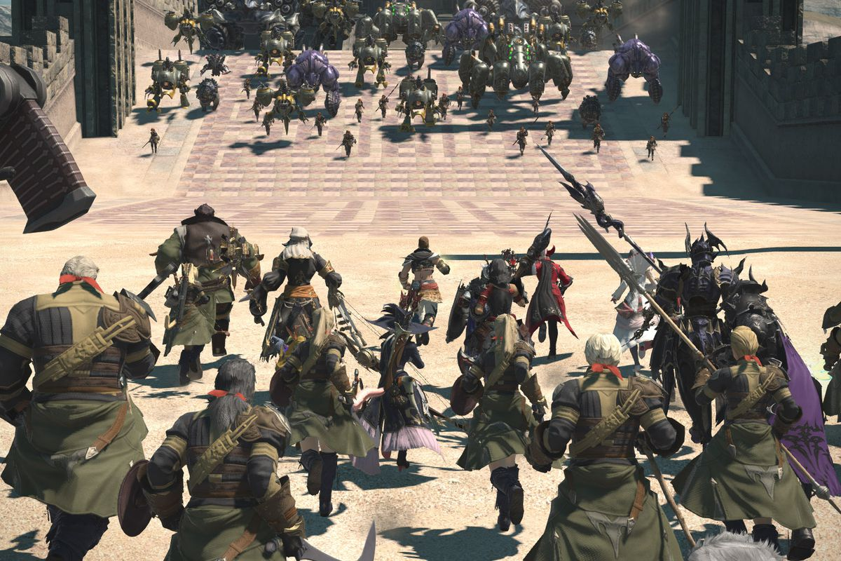 Final Fantasy 14 level boost and story skip costs as much as a full