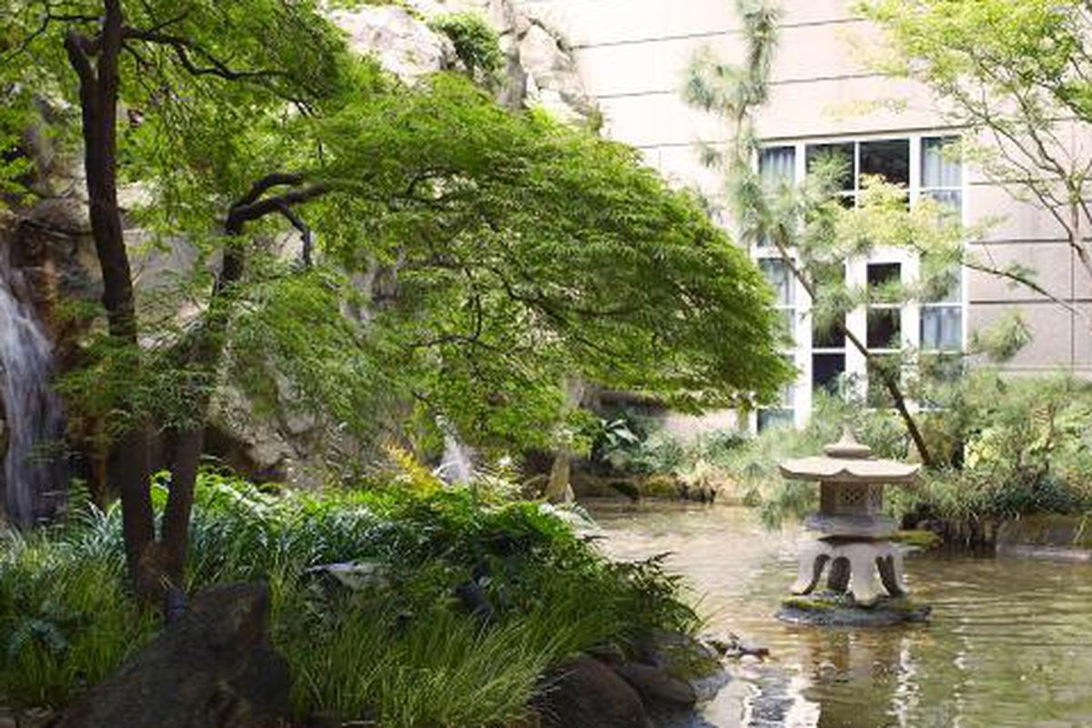 There's a secret Zen garden in Buckhead. Shhh