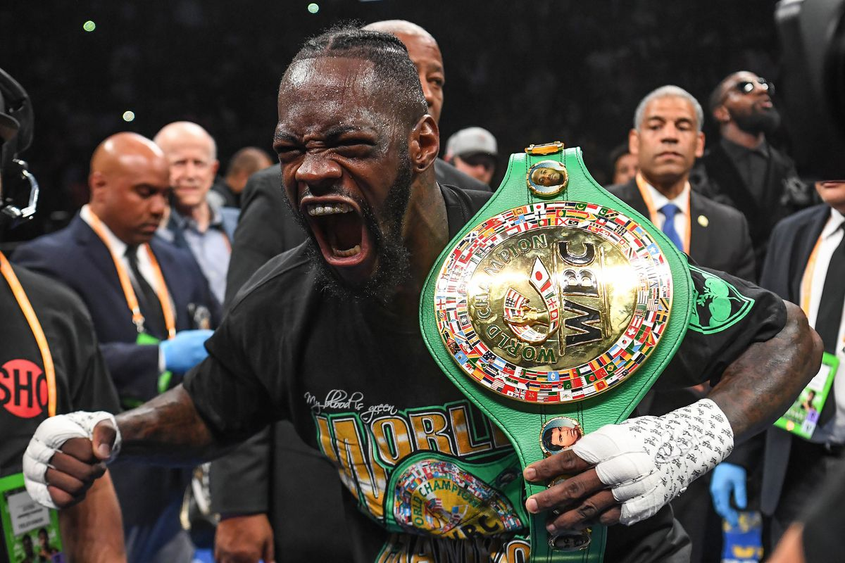 Watch Deontay Wilder S Brutal Ko Of Dominic Breazeale From Every