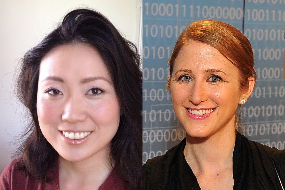 Evertoon CEO Niniane Wang and Paradigm CEO Joelle Emerson
