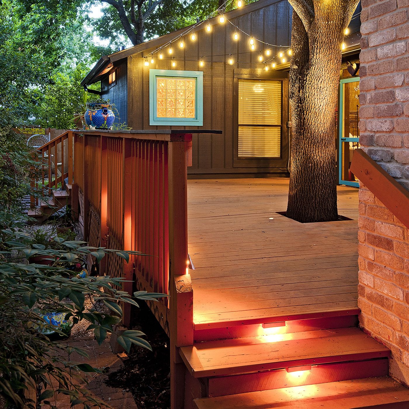 How To Add A Little Mood Lighting To Your Deck This Old House