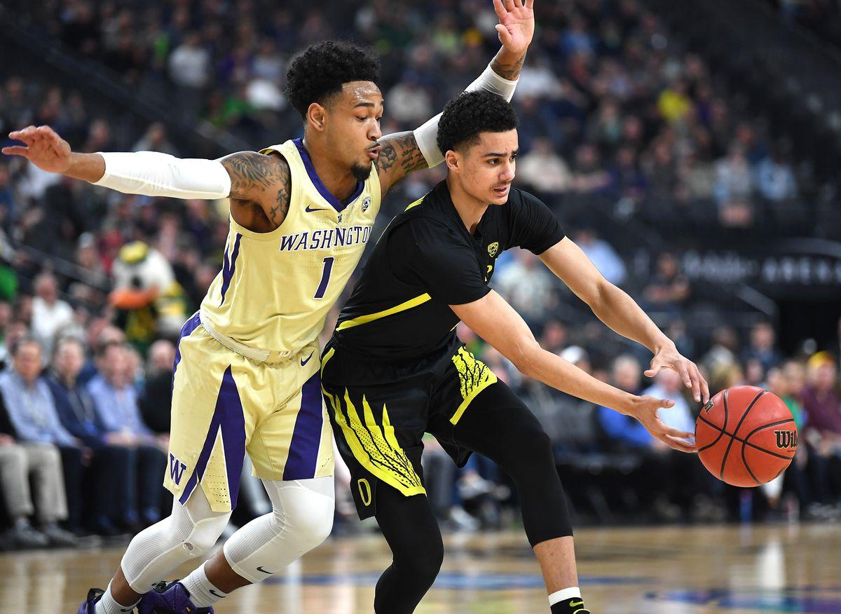 NCAA Basketball: Pac-12 Conference Tournament Final-Oregon vs Washington