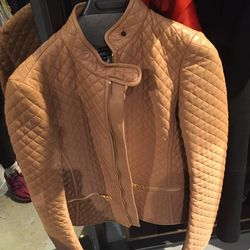One of the last leather jackets, $449.50