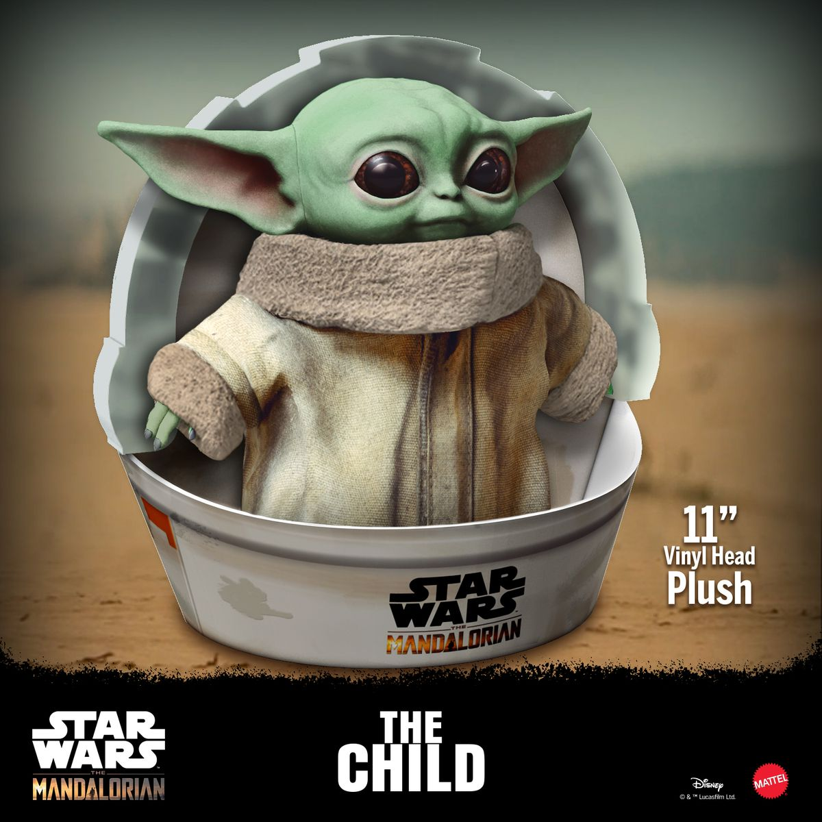 Walmart Removed Then Returned A Bizarre Baby Yoda Toy To