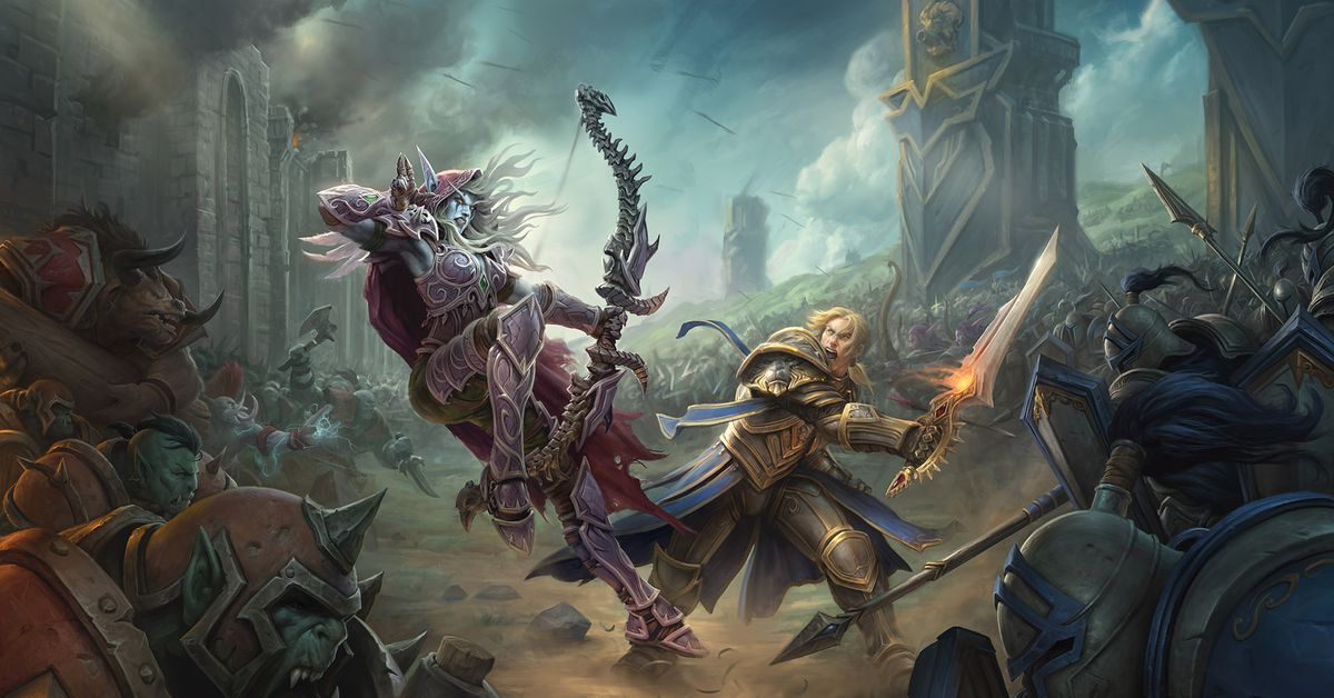 World Of Warcraft Wallpaper Bfa: Battle For Azeroth: World Of Warcraft Returns To Its Roots