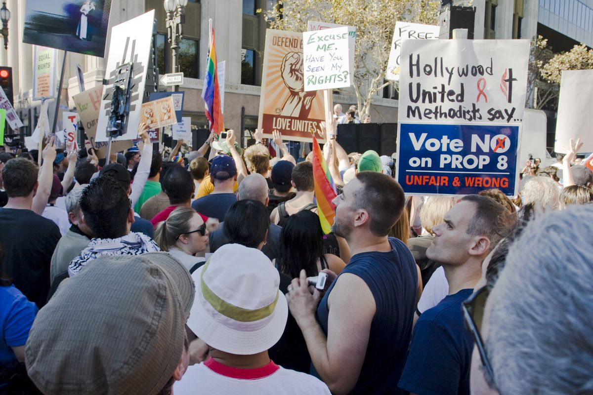 Gay Rights Prop 8 Protest