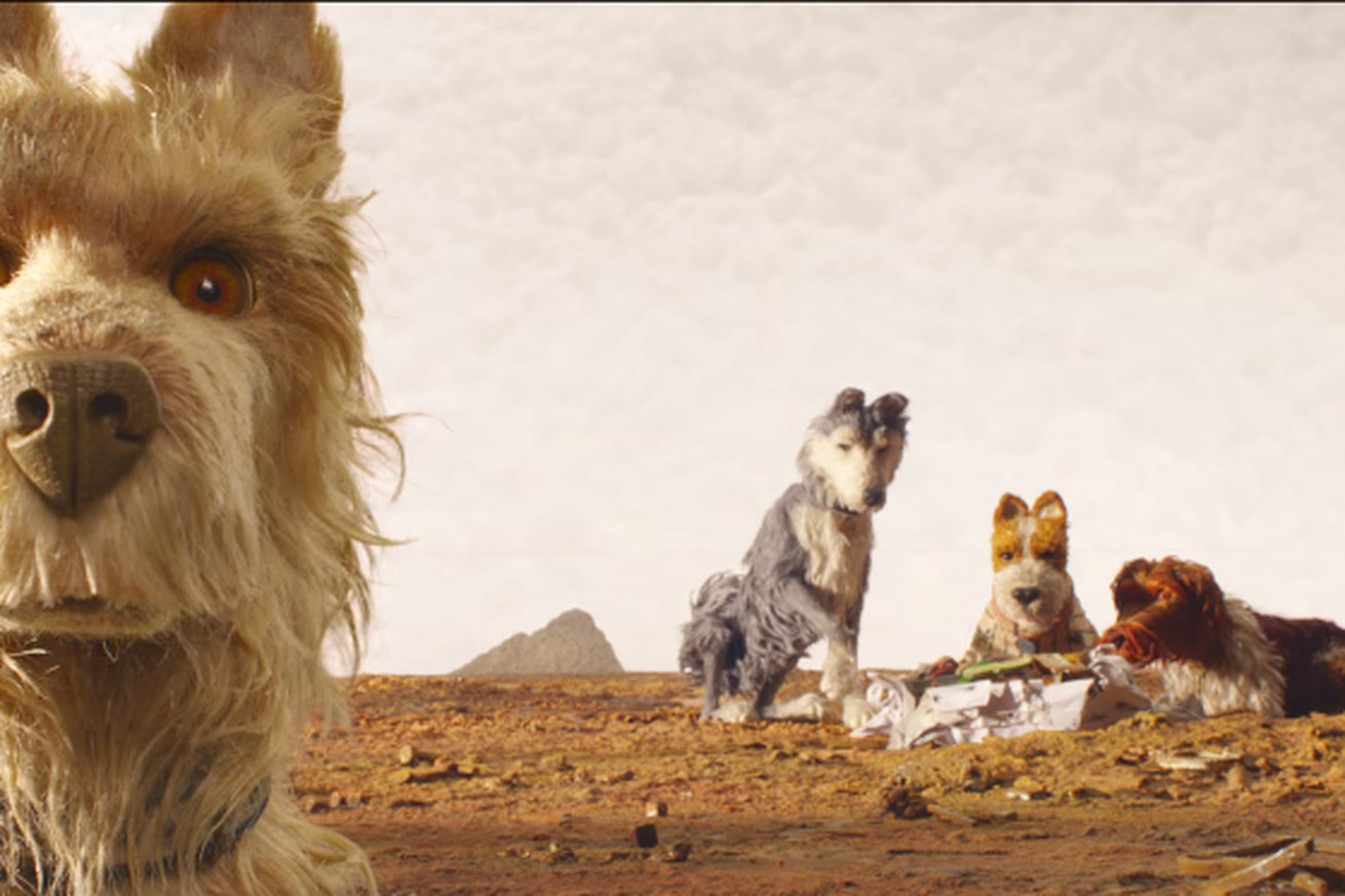 watch the first trailer for wes anderson s stop motion movie isle of dogs